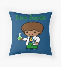 Cute Future Scientist  Gifts Throw Pillow