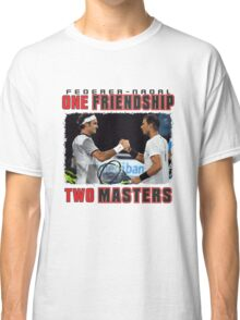 Federer and Nadal Classic T-Shirt