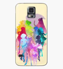 Sailor Moon Crystal Watercolor Palette  Case/Skin for Samsung Galaxy