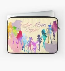Sailor Moon Crystal Watercolor Palette  Laptop Sleeve