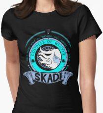 SKADI - GODDESS OF WINTER Womens Fitted T-Shirt