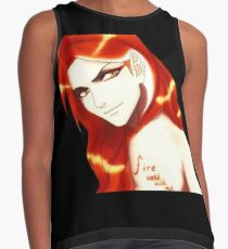Sauron_Fire walk with me Contrast Tank