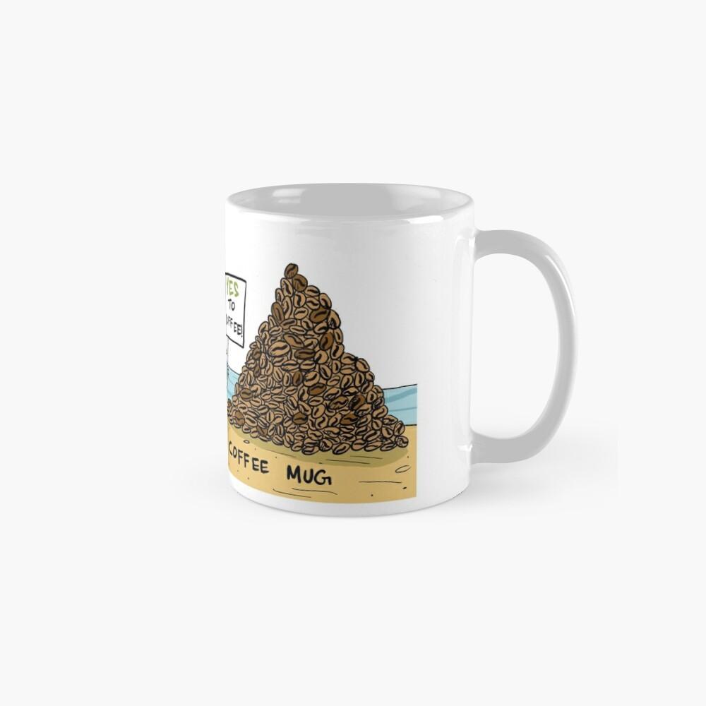 No to Landfills Yes to Coffee Mugs