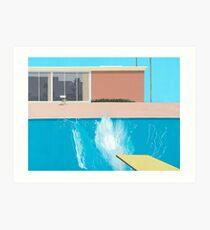 """David Hockney """"A Bigger Splash"""" Art Print"""