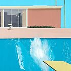 "David Hockney ""A Bigger Splash"" by bedwetting"