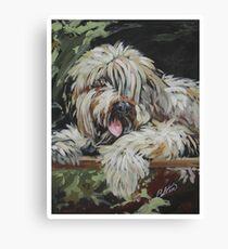 Pet Portrait  Canvas Print
