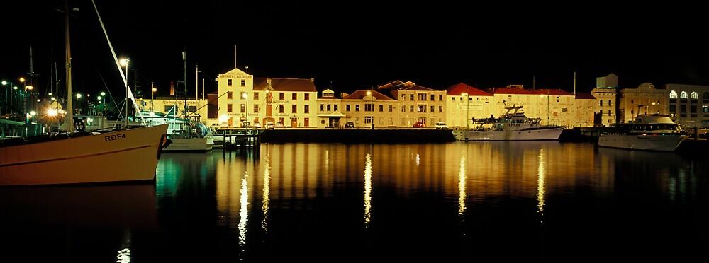 Constitution Dock - Hobart - Tasmania by James Pierce