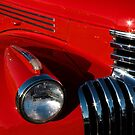 Chevy Red by Linda Bianic