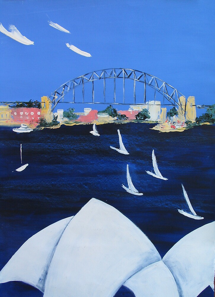 Harbourside by Diana Cole