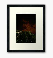 Scarey Sky  Framed Print