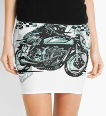 Cafe Racer Mini Skirt