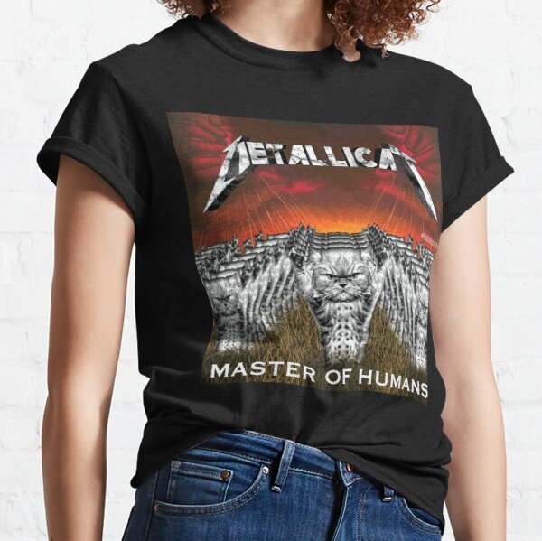 CATS MASTER OF HUMANS Classic T-Shirt