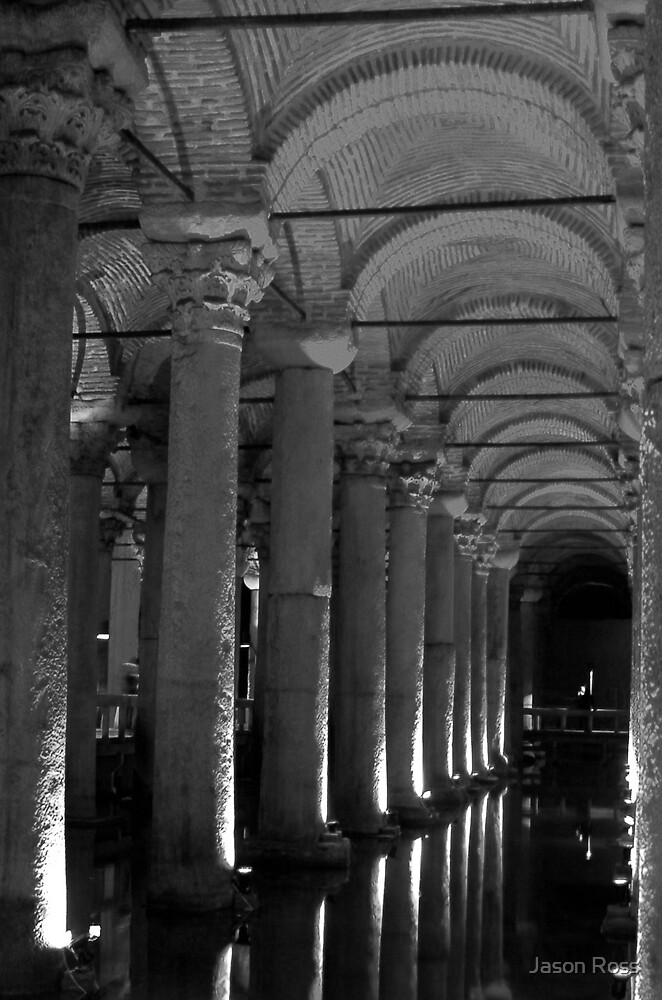 Cistern 2 B&W by Jason Ross