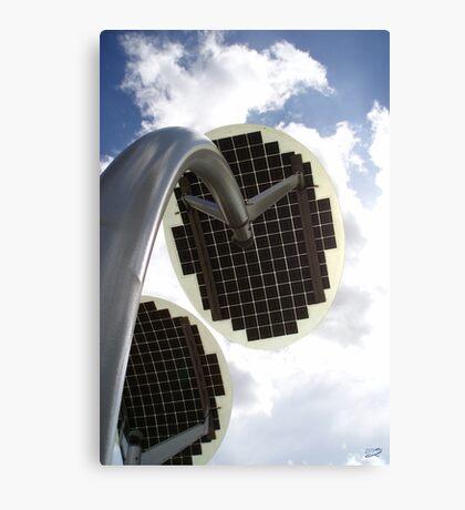 Solar Petals Canvas Print