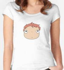 Ponyo colours Women's Fitted Scoop T-Shirt
