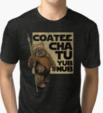 Coatee Chu Tu Yub Nub Tri-blend T-Shirt