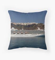 Cruising the Greek Islands Throw Pillow