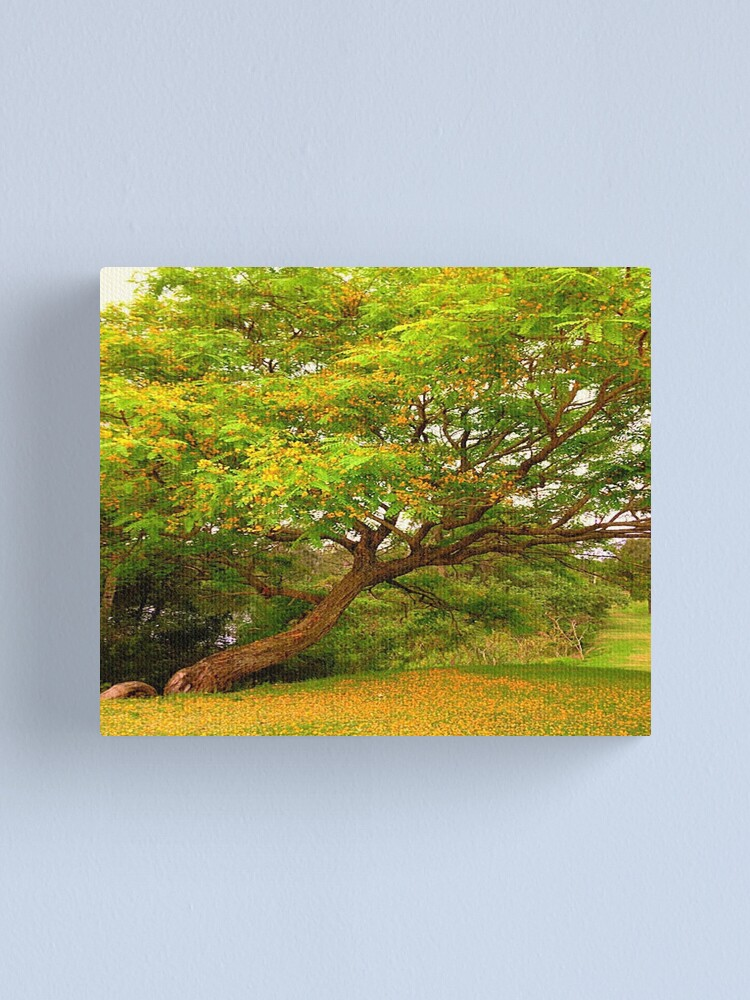 Alternate view of The Yellow Tree Canvas Print