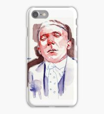 Refused to open his eyes (M.O.C) iPhone Case/Skin