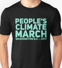 PEOPLE'S CLIMATE MARCH T-Shirt