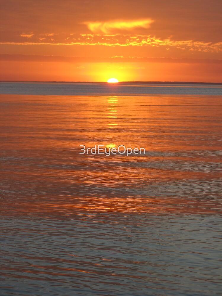 Orange Sky by 3rdEyeOpen