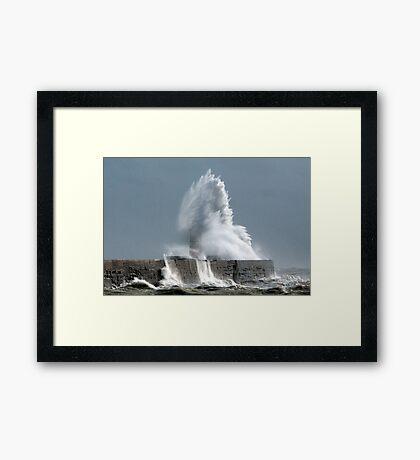 Lightwave Framed Print