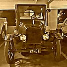 Classic Beauty in the Parking Garage (1923 Ford Model T runabout) by Jane Neill-Hancock