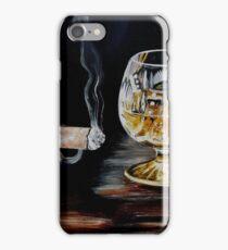 Cigar & Brandy iPhone Case/Skin