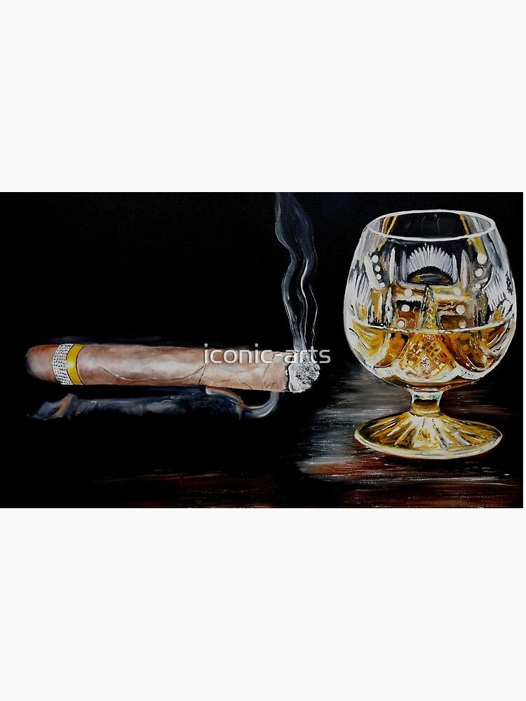 Zigarre & Brandy von iconic-arts