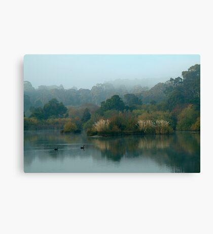 Morning, Lake Daylesford Canvas Print