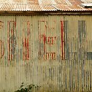 Old Workshop,Shell Signage by Joe Mortelliti