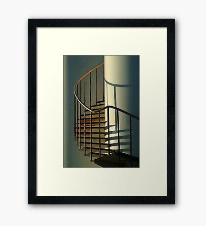 Storage Tank Framed Print