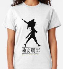Youjo Senki Blacked Art Classic T-Shirt