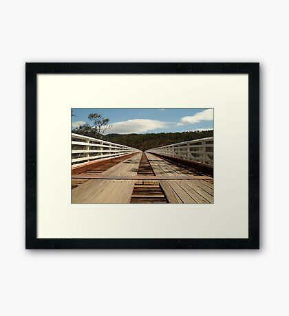 McKillops Bridge Framed Print