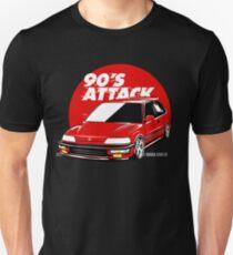 CIVIC EF 90'S ATTACK Unisex T-Shirt