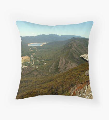 Halls Gap Grampians Throw Pillow