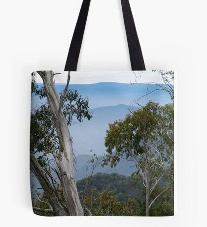 High Country Fog Layers Tote Bag