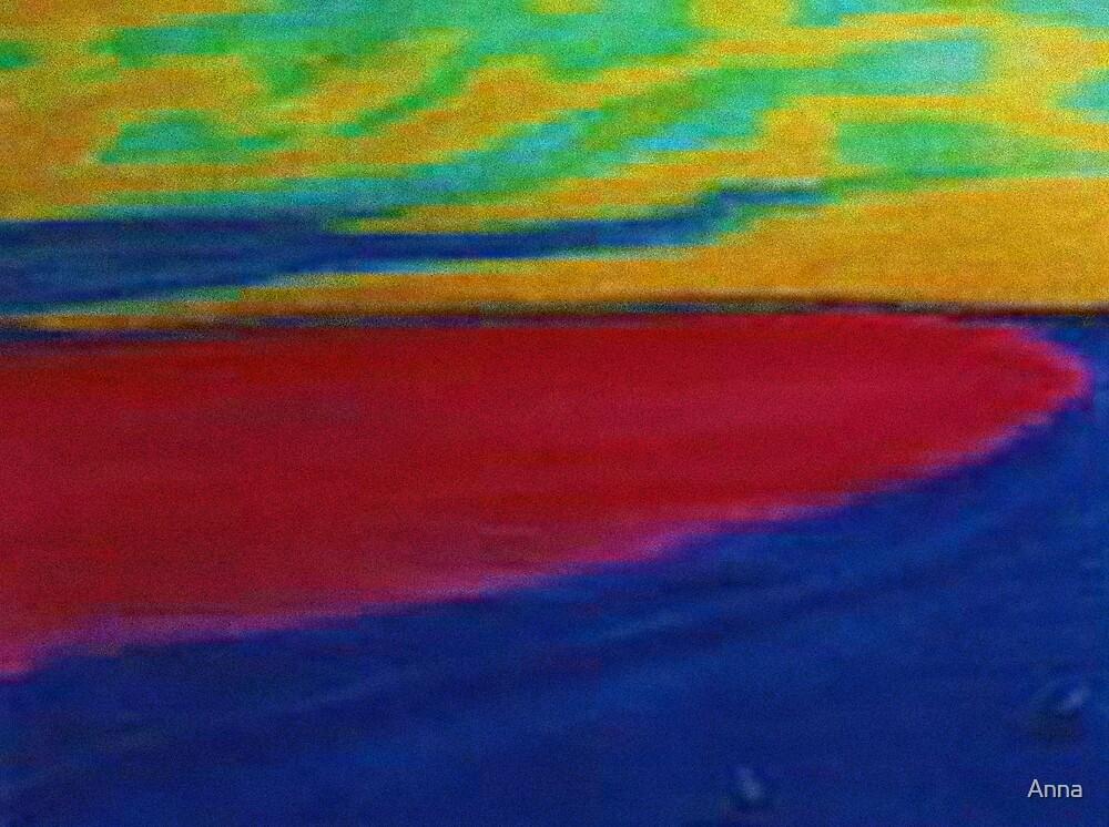 'Beach1' 2001 by Anna