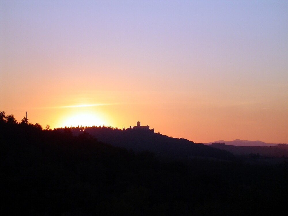 tuscan sunset by graham