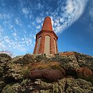 1864 Tin Mine Chimney - Cape Cornwall by Marilyn Harris