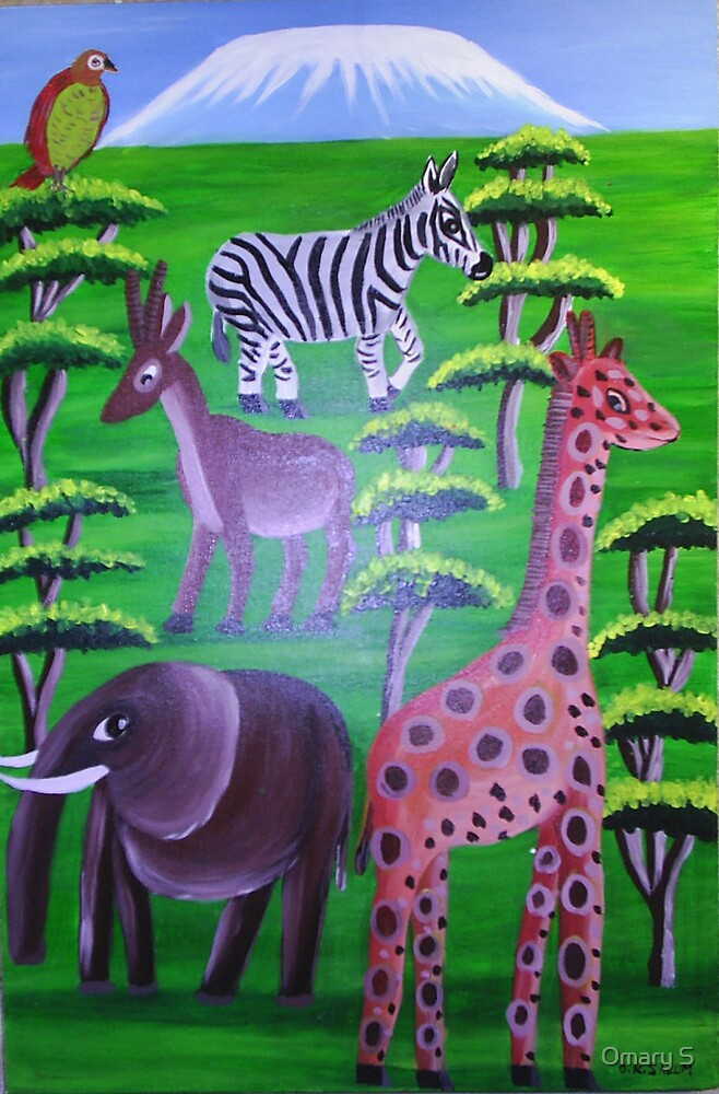 Wanyama Wapole (Gentle Animals) by Omary S