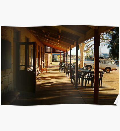 Pub, Outback Tibooburra,N.S.W.  Poster