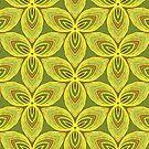 Shamrock Jade Green Trefoil by Rasendyll