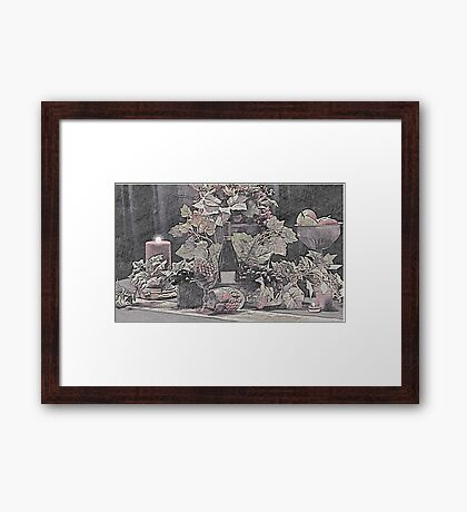 Welome to our Home Framed Print
