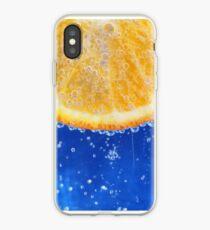 Bubbly Orange iPhone Case