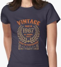 Vintage Made In 1967 Distressed Birthday Gift T-Shirt