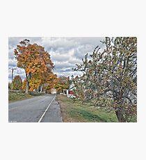 Autumn Traveling Photographic Print
