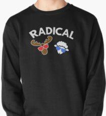 Radical  Moose Lamb T Shirt Pullover