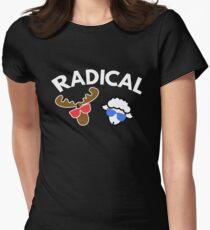 Radical  Moose Lamb T Shirt Womens Fitted T-Shirt