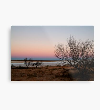 Salt Pan, Simpson Desert, S.A. Metal Print